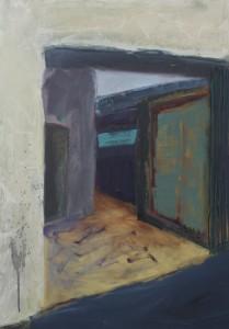 Back Entrance 2 Oil on canvas