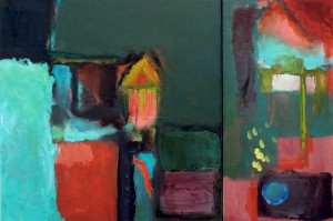 Another Place Diptych