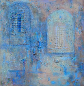 Blue Cellar by Anthony Wishaw RA