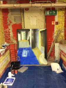 Oaklands Basement Painting Day