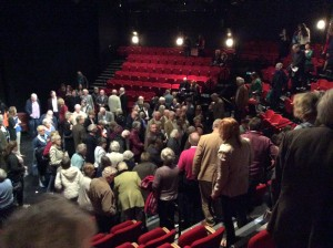 Pre-show talk with Alan Ayckbourn and Nadia fall
