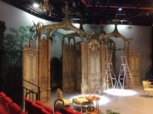 The Rehearsal set designed by Bill Dudley