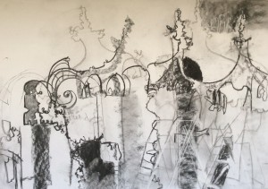 The Rehearsal - Set drawing