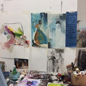 Painting at Seawhite Studios