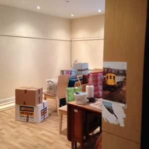 Lavant Studio - all packed up